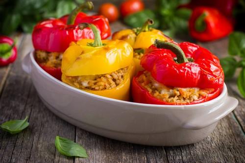 Фаршированные перцы – 3 простых и вкусных рецепта
