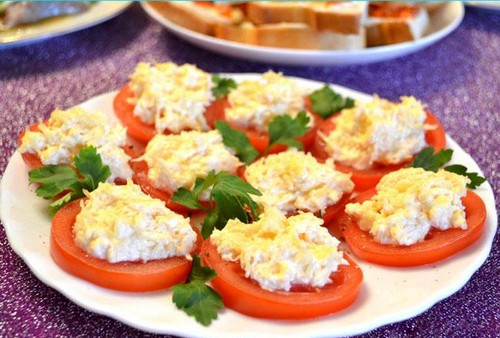 Помидоры и сыр – 4 блюда на основе их сочетания