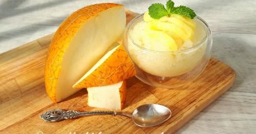 3 вкусных рецепта десерта с дыней