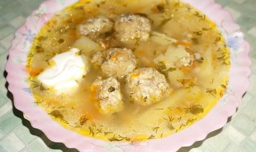 Тефтельки для летнего супа – 3 простых рецепта
