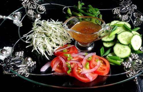 Грузинский салат газапхули – 2 способа приготовления