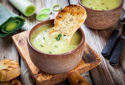 Суп-пюре из кабачков – вкусно и полезно