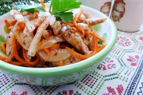 Корейская кухня: хе из рыбы, курицы и мяса