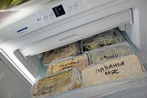 Заполняем морозилку – заготовка полезных ужинов на неделю