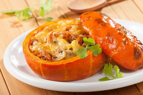 Тыква не только для каши: готовим закуску, суп и мясное рагу с тыквой