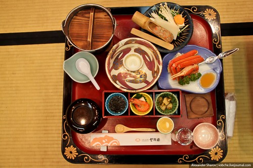 Ужин, как у японской семьи