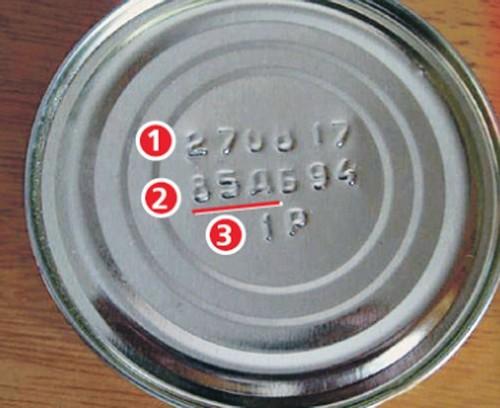 Как расшифровать символы на рыбных консервах