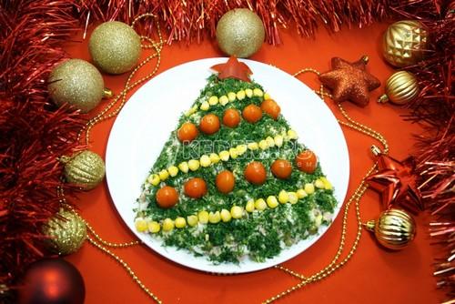Долой оливье: 4 нестандартных салата на новогоднем столе 2021