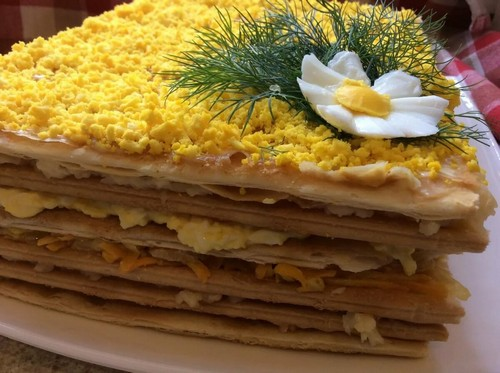 3 варианта сытного торта с вафельными коржами к новогоднему столу 2021
